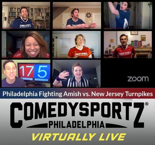 ComedySportz: Virtually Live!, 31 October | Online Event | AllEvents.in