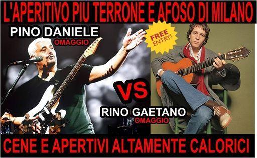 Pino Daniele Con I Pinos Vs Rino Gaetano Con I Capofortuna