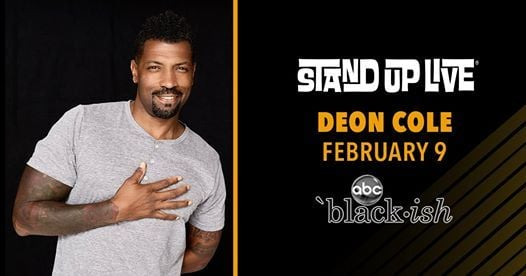 Deon Cole at Stand Up Live
