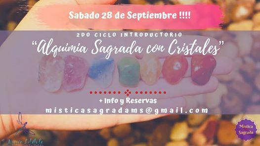 2do Ciclo Alquimia Sagrada Con Cristales At Providencia