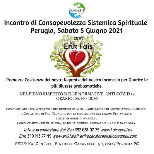 Incontro di Consapevolezza Sistemica Spirituale a Perugia, 5 June | Event in Perugia | AllEvents.in