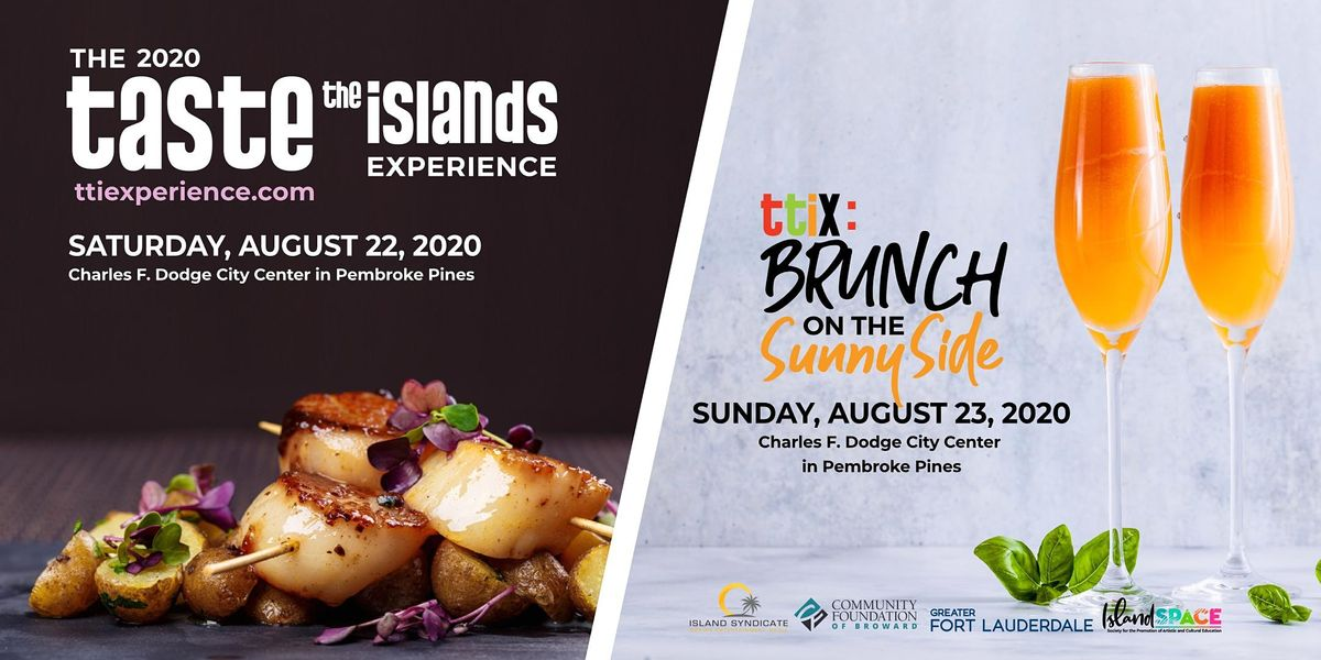 Brunch on the Sunny Side: Taste the Islands Experience 2020, 8 May   Event in Pembroke Pines   AllEvents.in