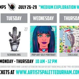 Medium Exploration Week - Virtual Art Camp