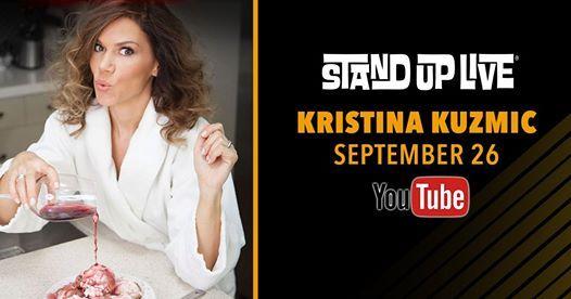 Kristina Kuzmic at Stand Up Live