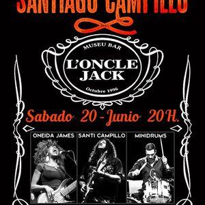 Santiago Campillo en LOncle Jack - Hospitalet de Llobregat BCN
