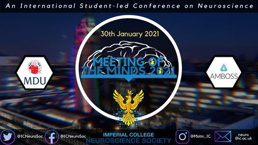 Imperial College Meeting of the Minds 2021, 30 January | Event in London | AllEvents.in