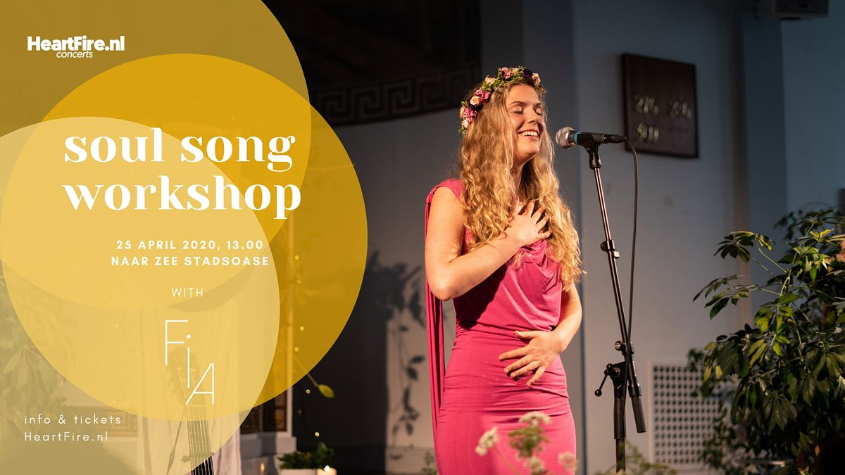 Soul Song - A Workshop with Fia (SOLD OUT)