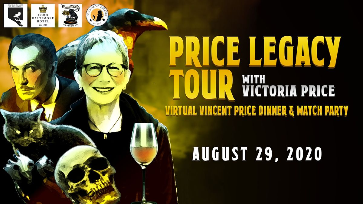 Price Legacy Tour with Victoria Price daughter of Vincent Price
