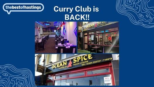 Hastings Curry Club, 10 December   Event in Hastings   AllEvents.in