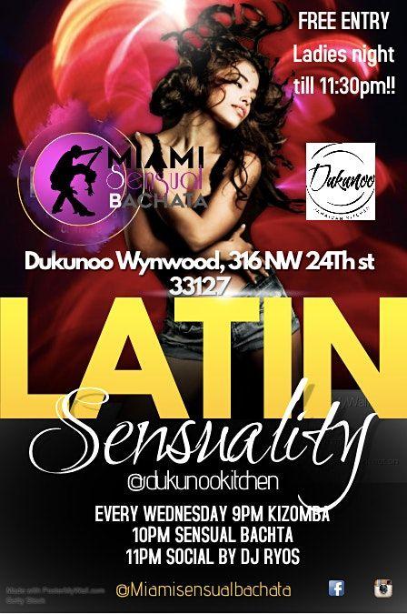 Dukunoo Latin Sensuality Wednesdays come to dance Kizomba and Bachata class