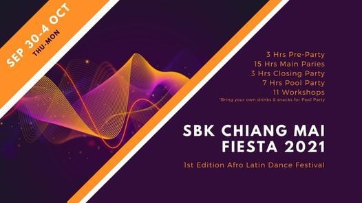 SBK Chiang Mai Fiesta 2021, 30 September   Event in Chiang Mai   AllEvents.in