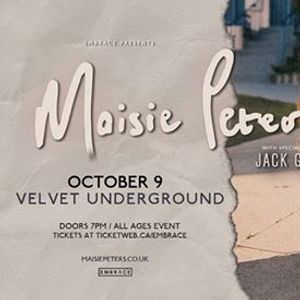 Maisie Peters at Velvet Underground  Oct 9