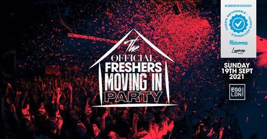 The 2020 Official London Freshers Moving In Party at EGG