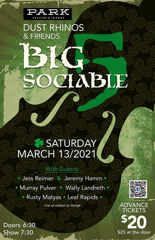 THE BIG SOCIABLE 5, 29 October | Event in Winnipeg | AllEvents.in