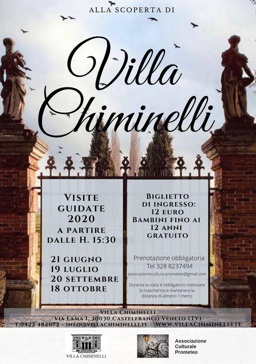 Visite guidate a Villa Chiminelli