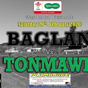 Senior XV Rugby Baglan V Tonmawr