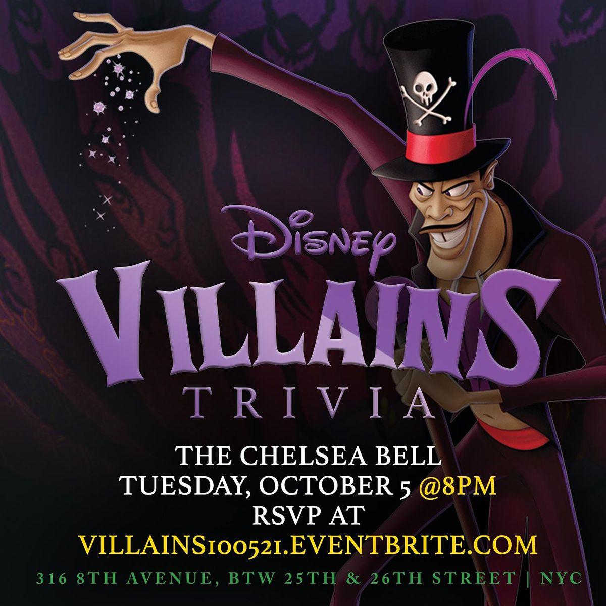 Disney Villains Trivia, 5 October | Event in New York | AllEvents.in