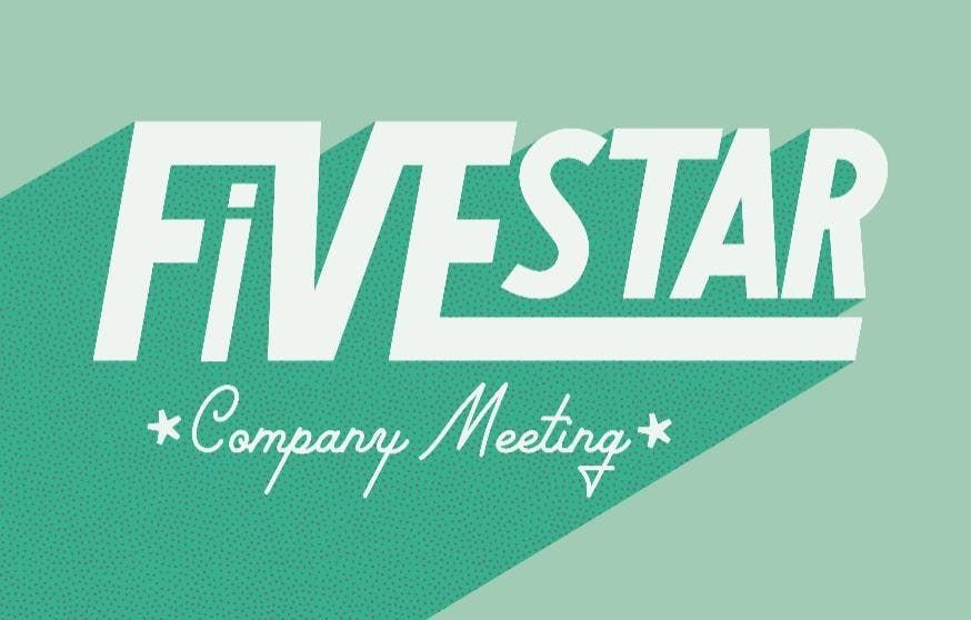 Five Star Company Meeting Fall 2019 at Watermark Country