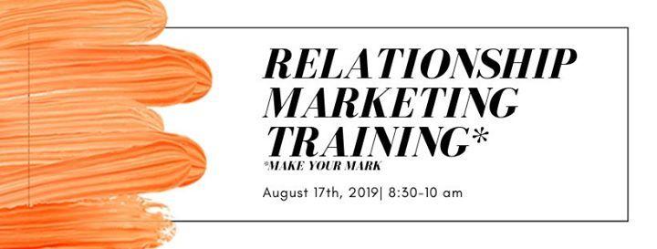 Relationship Marketing Training