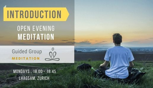 Introduction to Meditation (online), 5 July   Event in Zurich   AllEvents.in