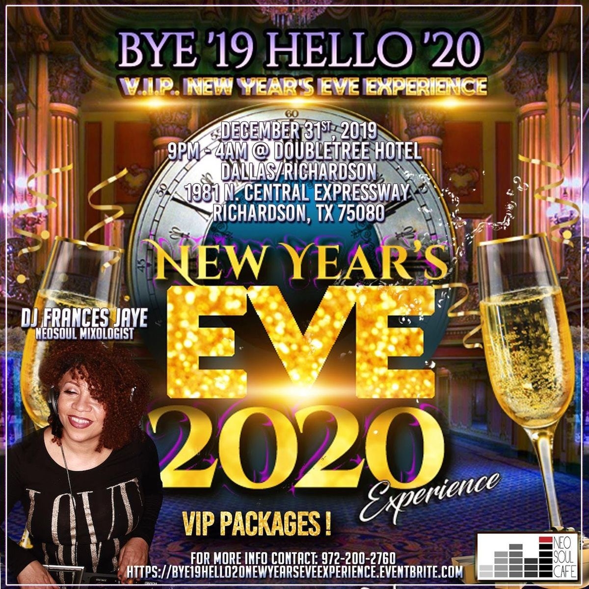Dallas New Years Eve 2020.Bye 2019 Hello 20 Vip New Years Eve 2020 Experience At