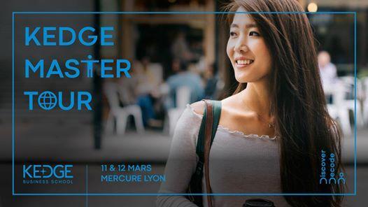 Lyon  KEDGE Master Tour
