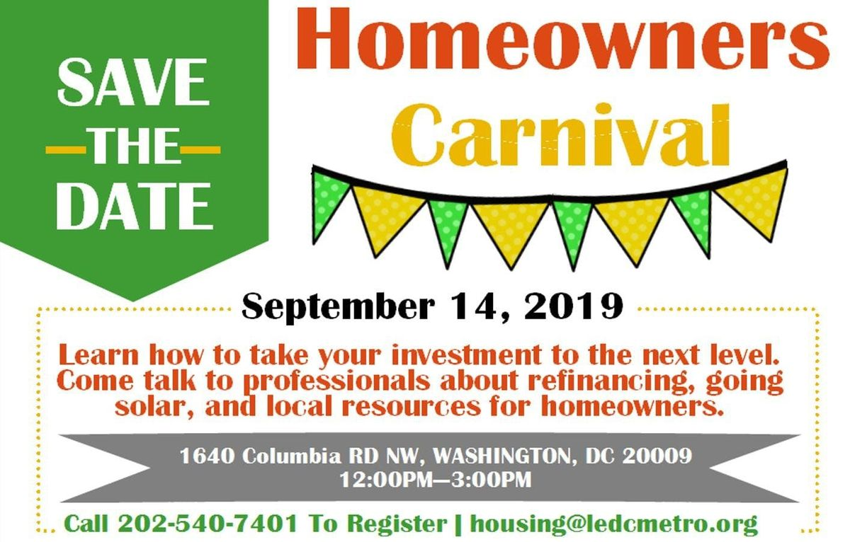 Homeowners Carnival at The Festival Center, Washington
