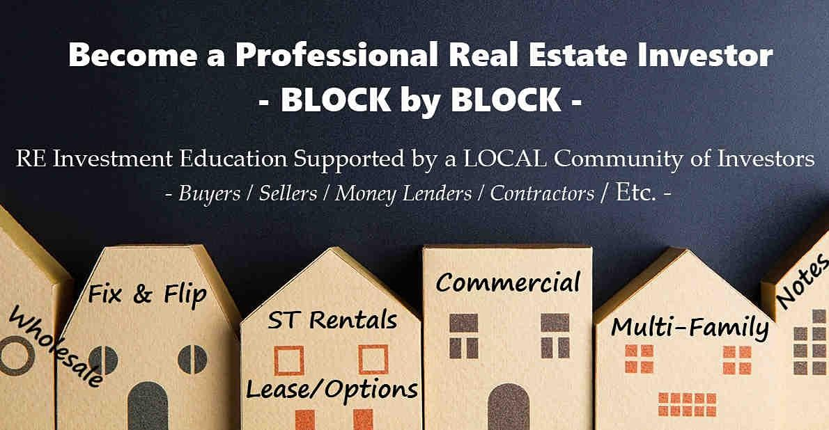 Online Event Professional Real Estate Investor Education & Community (S)