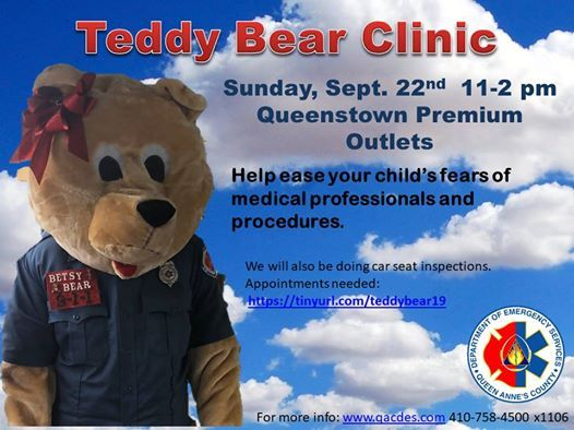 Teddy Bear Clinic at Queenstown Premium Outlets, Queenstown