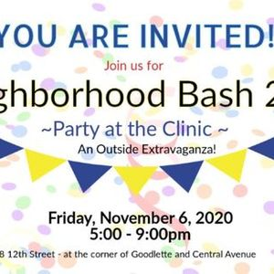 Neighborhood Bash  Party at the Clinic  An Outside Extravaganza