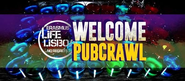Welcome PubCrawl - by Erasmus Life Lisboa, 13 April | Event in Lisbon | AllEvents.in