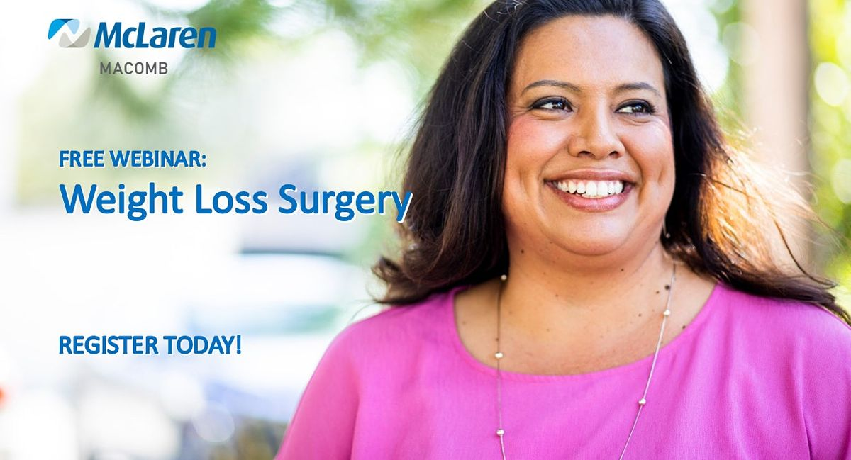 Copy of Understanding Surgical Weight Loss, 14 April | Event in Mount Clemens | AllEvents.in