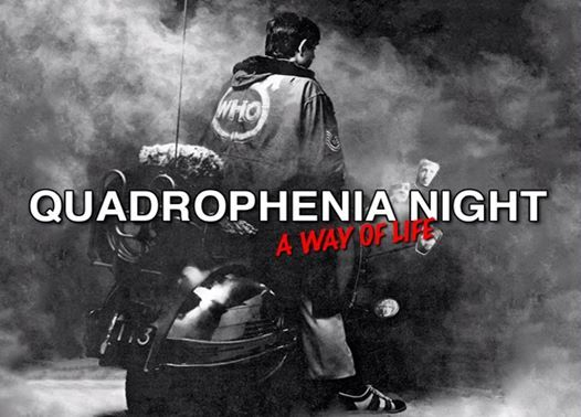 Quadrophenia LIVE CLUB NIGHT