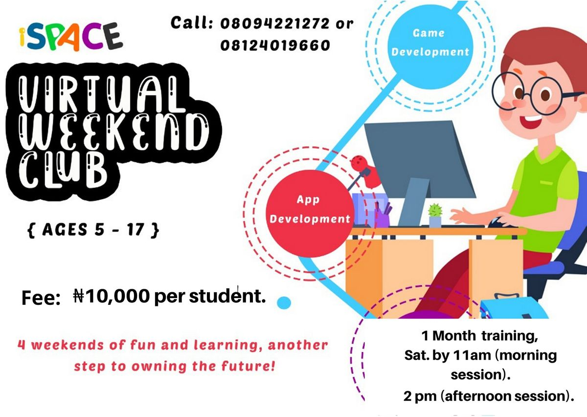 iSPACE Virtual Weekend Club | Online Event | AllEvents.in