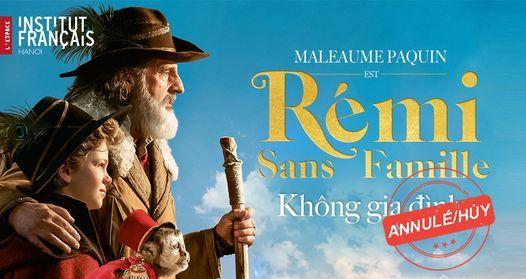 Điện ảnh: Không gia đình - Rémi sans famille, 7 February   Event in Hanoi   AllEvents.in
