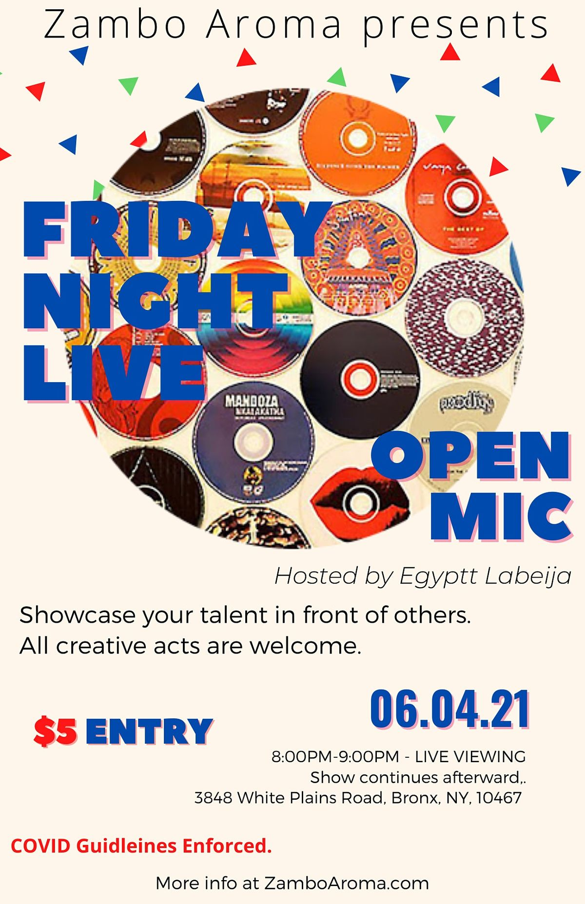Friday Night Live: Open Mic, 4 June | Event in The Bronx | AllEvents.in
