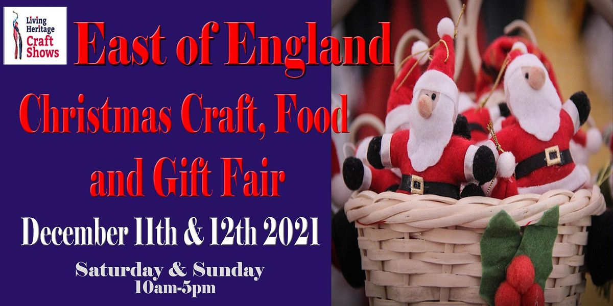 East of England Christmas Craft, Food and Gift Fair, 11 December   Event in Peterborough   AllEvents.in