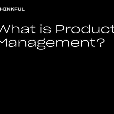 Thinkful Webinar  What Is Product Management