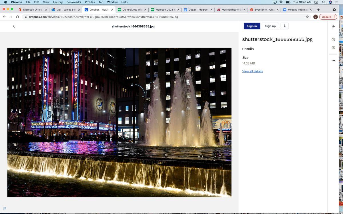 Still Traveling: Rockefeller's Famous Theater, 29 November | Online Event | AllEvents.in