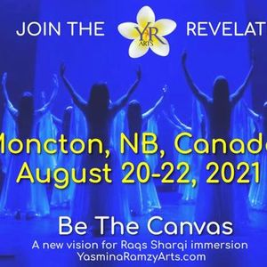 Be The Canvas Moncton NB New Dates in August 2021