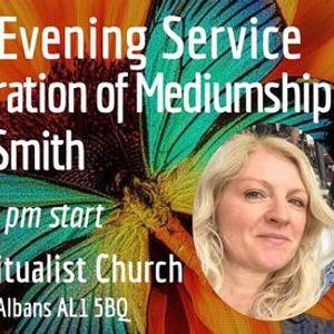 Thursday Evening Service & Demonstration of Mediumship