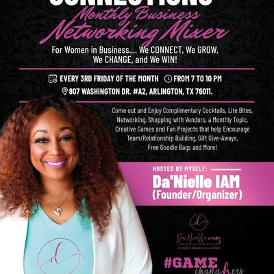 The ChangHer Connections Monthly Business Networking Mixer