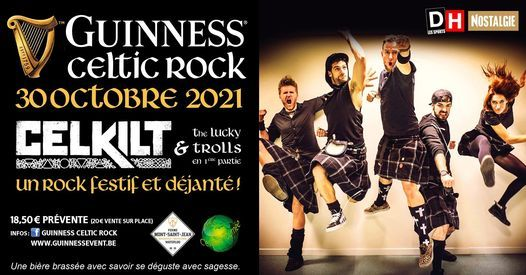 Guinness Celtic Rock Festival, 30 October | Event in Waterloo | AllEvents.in