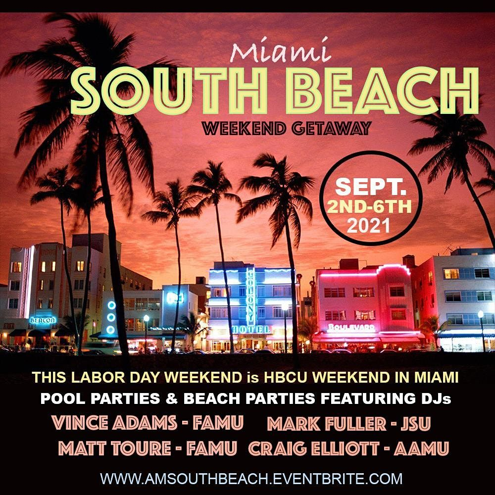 HBCU Summer South Beach Getaway, 2 September | Event in Miami Beach | AllEvents.in