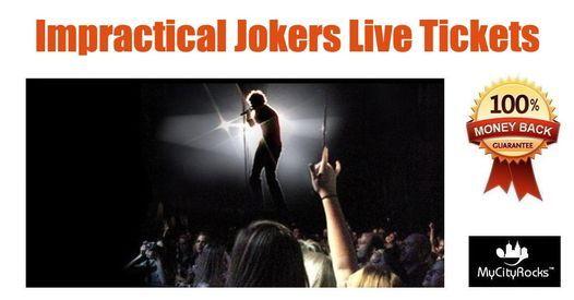 Impractical Jokers Live Tickets Green Bay WI Resch Center 611
