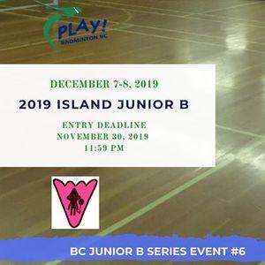 2019 Island Junior B - BC Junior B Series Event 6