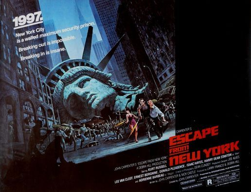 Escape From New York (1981) + 12 other sci-fi classics, 4 April | Event in Berlin | AllEvents.in
