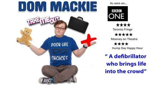 Dom Mackie: LIVE! - Studio at New Wimbledon Theatre, 18 February | Event in Wimbledon | AllEvents.in