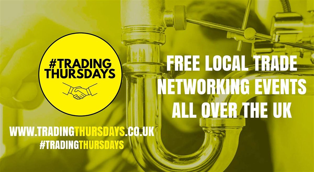 Trading Thursdays Free networking event for traders in Surbiton