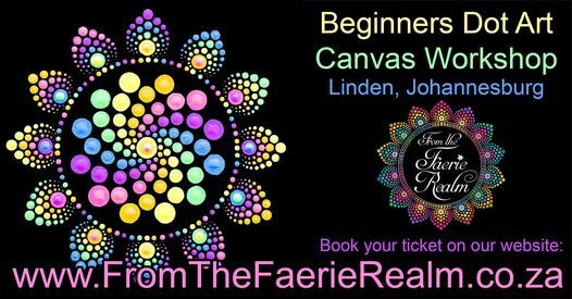 Beginners Canvas Dot Art Workshop Sat 7 August 2021, 7 August | Event in Linden | AllEvents.in
